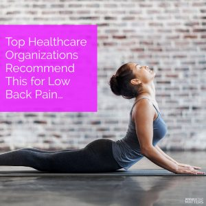 Tips to Overcome Low Back Pain in Kissimmee FL